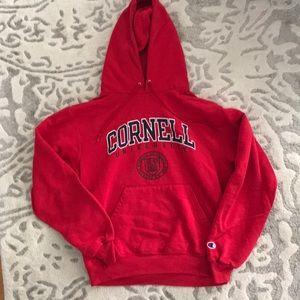 Champion Cornell U pullover hoodie sweatshirt  S